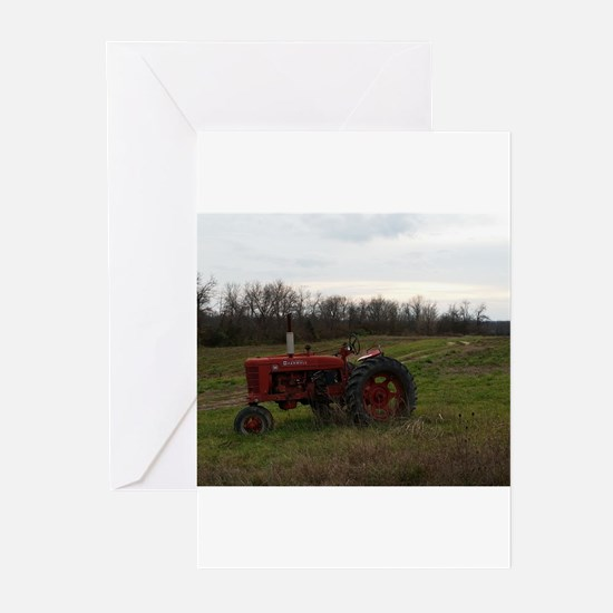 Cute Tractors Greeting Cards (Pk of 20)