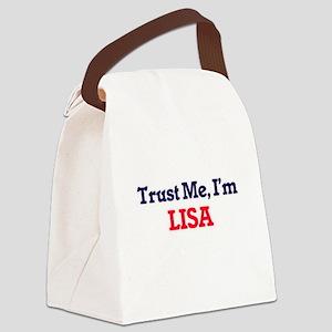 Trust Me, I'm Lisa Canvas Lunch Bag