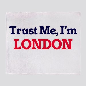 Trust Me, I'm London Throw Blanket