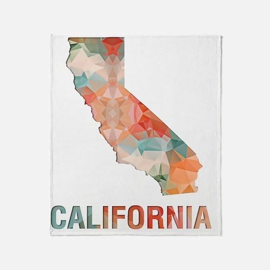 Unique California state Throw Blanket