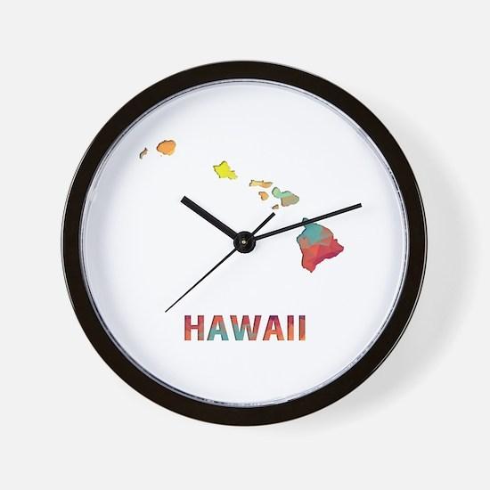 Unique Hawaii warriors Wall Clock