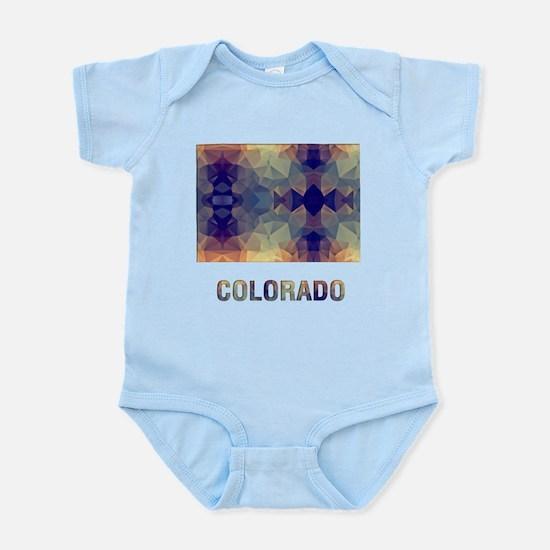 Mosaic Map COLORADO Body Suit
