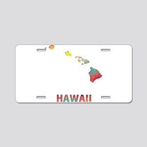 Mosaic Map HAWAII Aluminum License Plate
