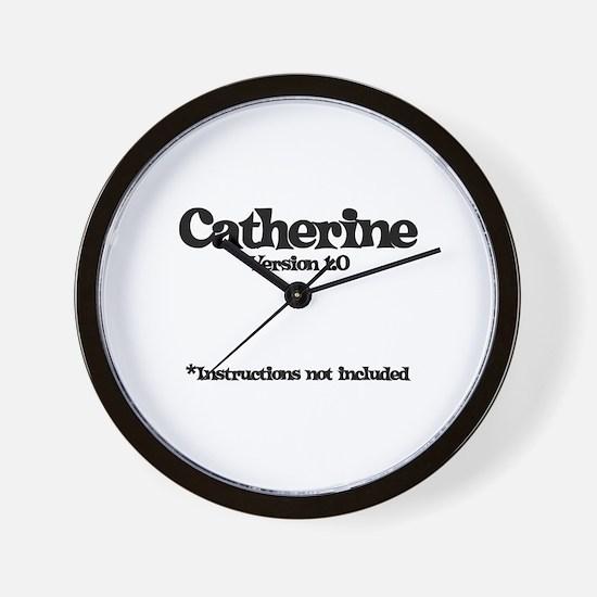 Catherine Version 1.0 Wall Clock