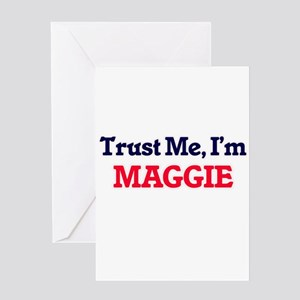 Trust Me, I'm Maggie Greeting Cards