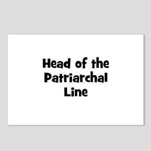 Head of the Patriarchal Line Postcards (Package of