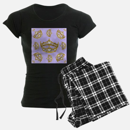 Queen of Hearts gold crown t Pajamas