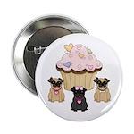 Pug Dog Cupcakes 2.25