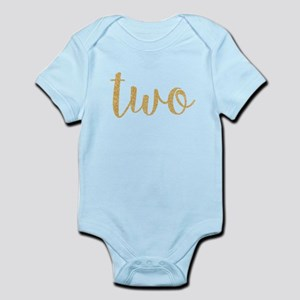 gold two Body Suit