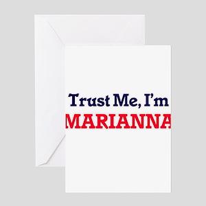 Trust Me, I'm Marianna Greeting Cards