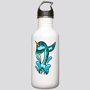 Dabbing Narwhal Stainless Water Bottle 1.0L