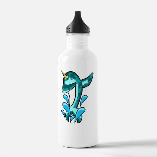 Dabbing Narwhal Water Bottle