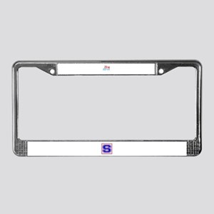 2014 Vintage League License Plate Frame