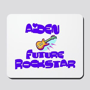 Aiden - Future Rock Star Mousepad