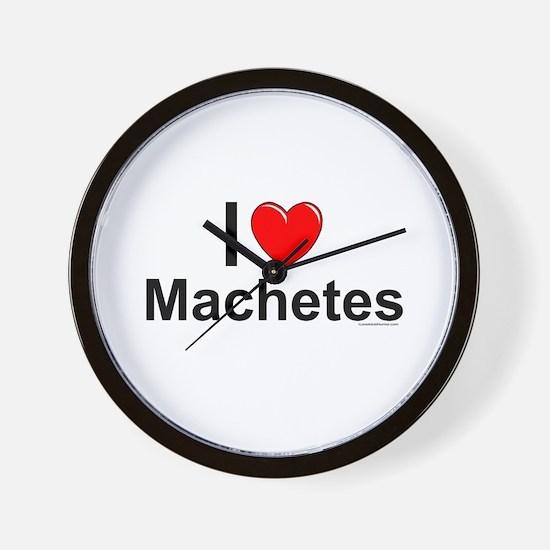 Machetes Wall Clock
