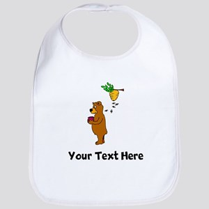 Bear With Honey (Custom) Bib