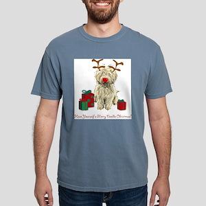 Merry Doodle Christmas Ash Grey T-Shirt