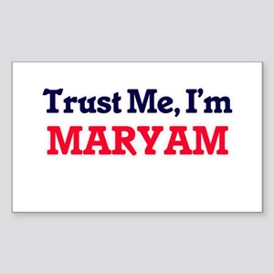 Trust Me, I'm Maryam Sticker