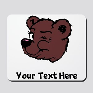 Bear Winking (Custom) Mousepad