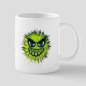 Green Spiky Monster Mugs