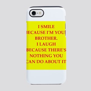 Family joke iPhone 8/7 Tough Case