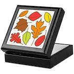 Autumn Leaves Keepsake Box