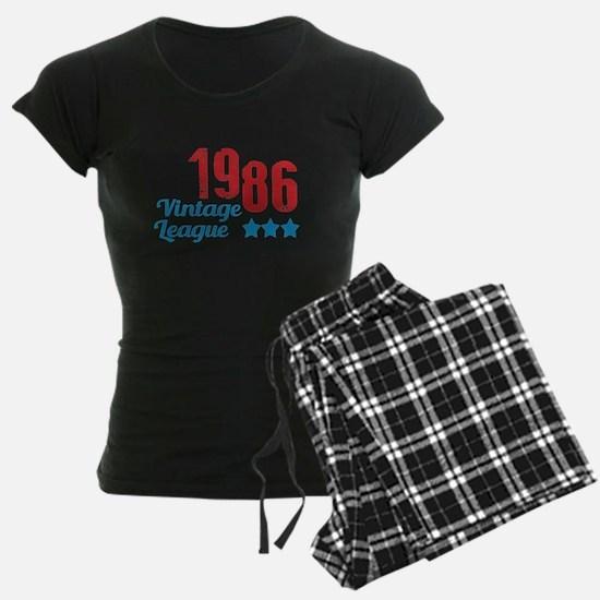 1986 Vintage League Pajamas