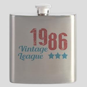 1986 Vintage League Flask