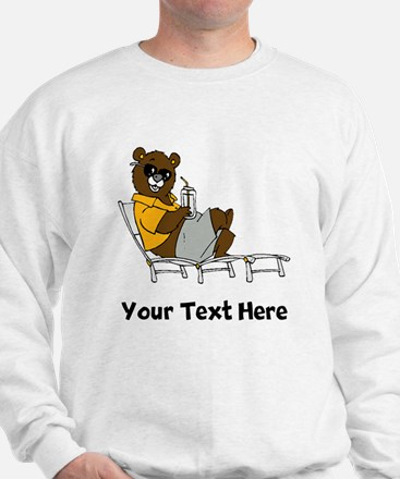 Bear Lounging (Custom) Sweatshirt