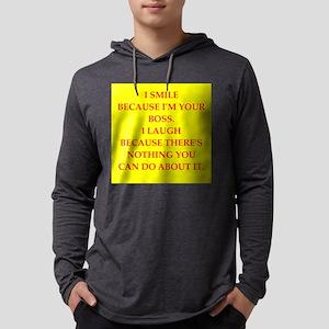 boss joke Long Sleeve T-Shirt
