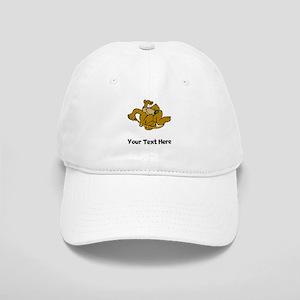 Bear Jumping Rope (Custom) Baseball Cap