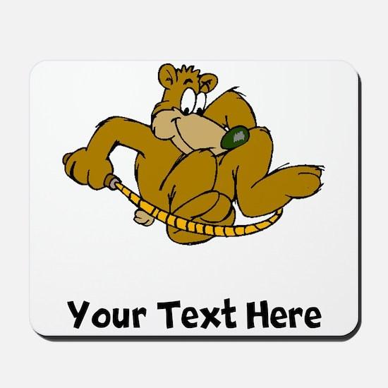 Bear Jumping Rope (Custom) Mousepad