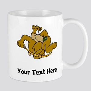 Bear Jumping Rope (Custom) Mugs