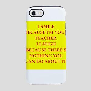 Education joke iPhone 8/7 Tough Case