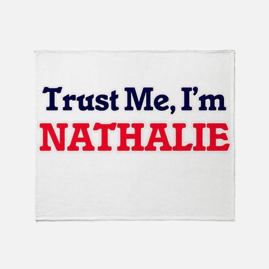 Trust Me, I'm Nathalie Throw Blanket
