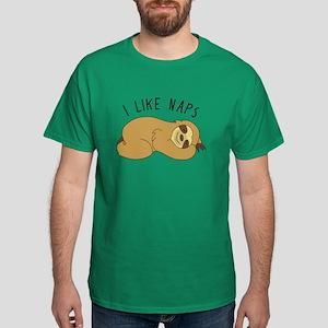 I Like Naps - Napping Sloth T-Shirt