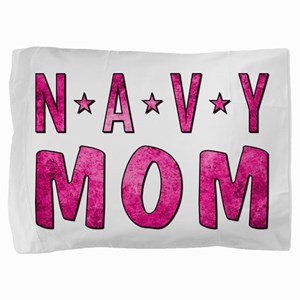 NAVY MOM Pillow Sham