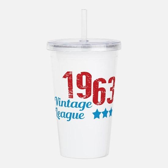 1963 Vintage League Acrylic Double-wall Tumbler