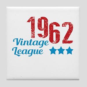 1962 Vintage League Tile Coaster