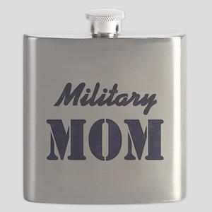 MILITARY MOM Flask