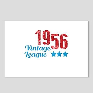 1956 Vintage League Postcards (Package of 8)