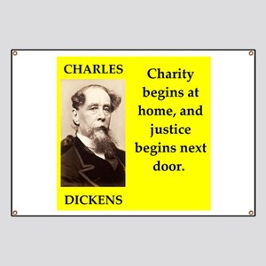 Charles dickens quote Banner