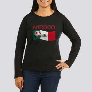 TEAM MEXICO WORLD CUP Women's Long Sleeve Dark T-S