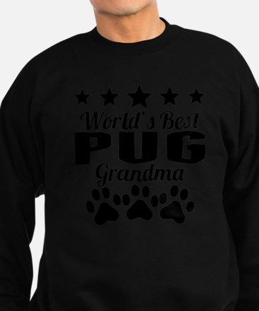 World's Best Pug Grandma Sweatshirt