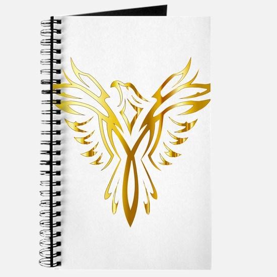 Phoenix Bird Gold Journal