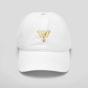 Phoenix Bird Gold Cap