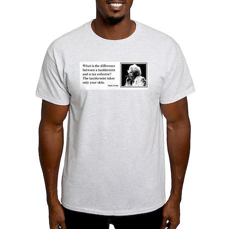 Twain on Taxes Light T-Shirt