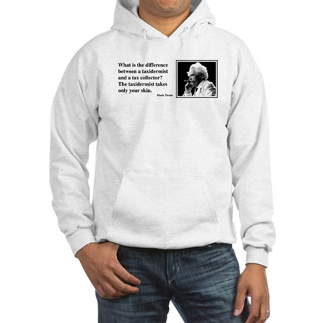 Twain on Taxes Hooded Sweatshirt
