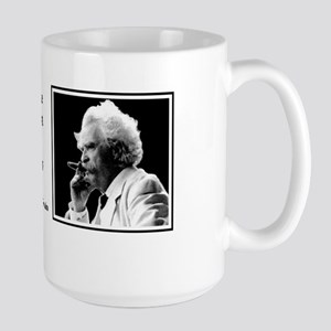 Twain on Taxes Large Mug