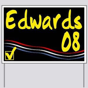 Edwards 08 Yard Sign